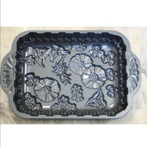 Nordic Ware Kitchen - Nordic Ware Wildflower Cake Pan Cast Aluminum